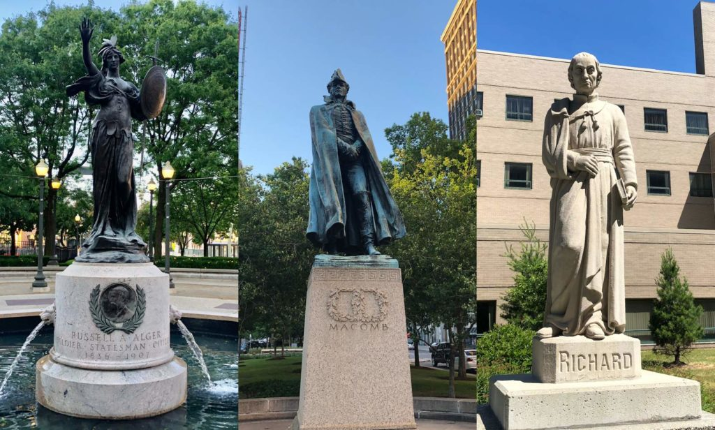Historical Statues Being Removed In Georgia