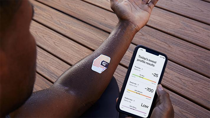 Innovative Patch To Measure Sweat And Hydration Simultaneously-Gatorade