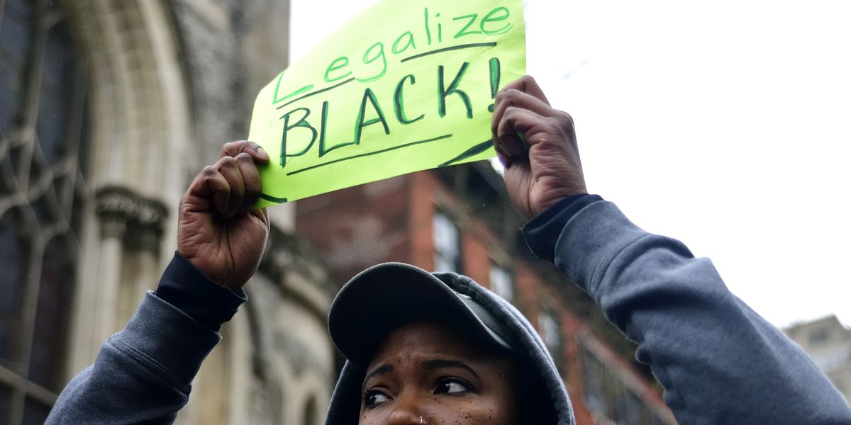 High Anxiety In Black People With Police Contact